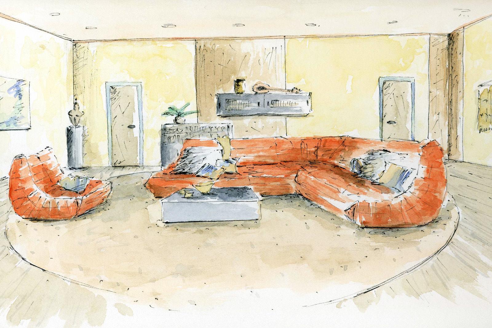 ... Decoration Interieur Salon Moderne Design Tendance Amelie H