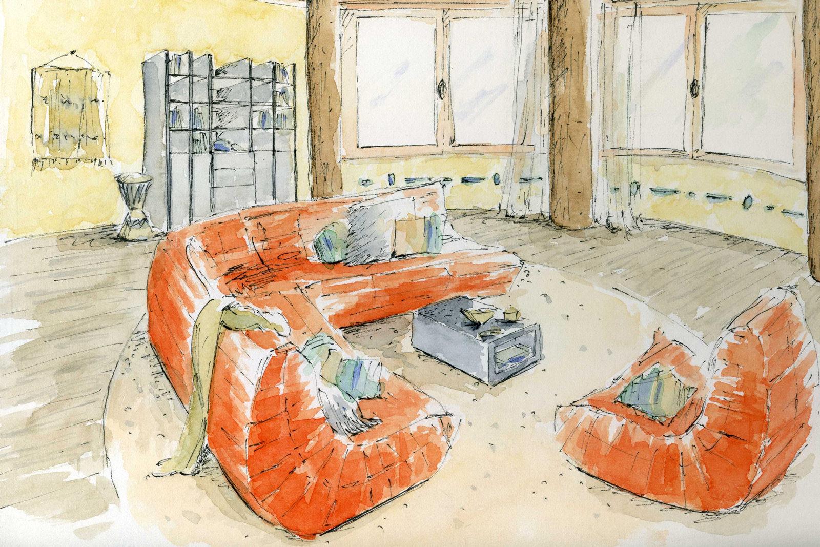 Decoration Interieur Salon Moderne Design Tendance Ethnique Amelie  ...