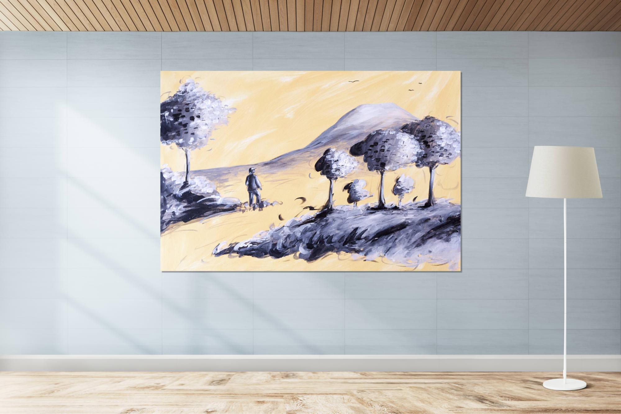 Peinture sur toile paysage
