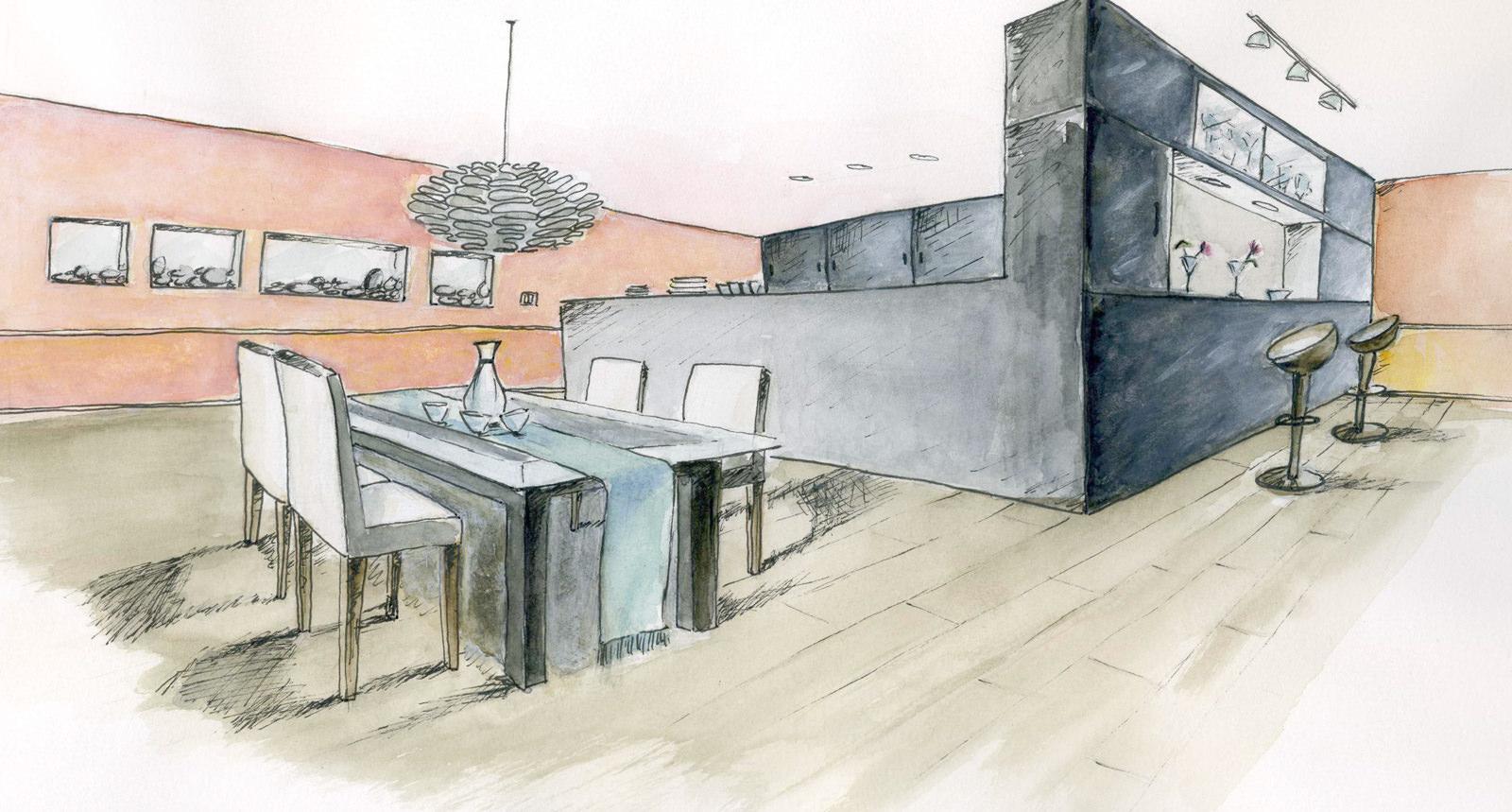 Coin-cuisine-salle-a-manger-esprit-contemporain-danois-amelie-h-decoratrice